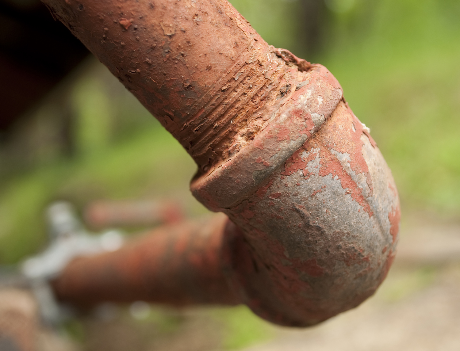 Rusted Pipes - ABC Plumbing Service West Hollywood
